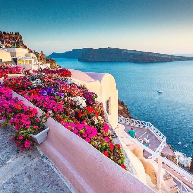 Santorini, Greece...........just a little obsessed :)
