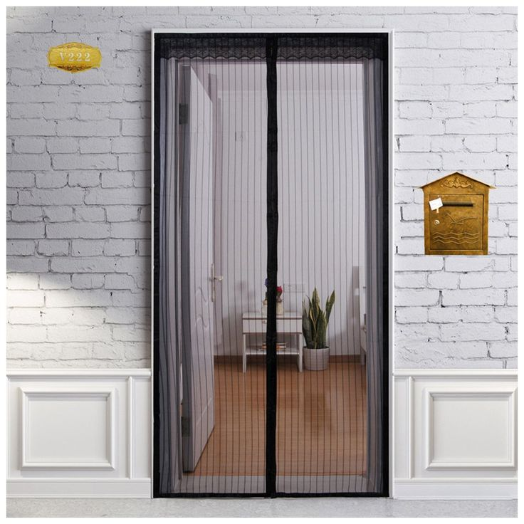 """Heeku Magnetic Screen Door Top to Bottom Ultra Seal Magnets Shut Automatically and Keep Fresh Air in & Bugs Out Fits Door Size 36""""x80"""""""