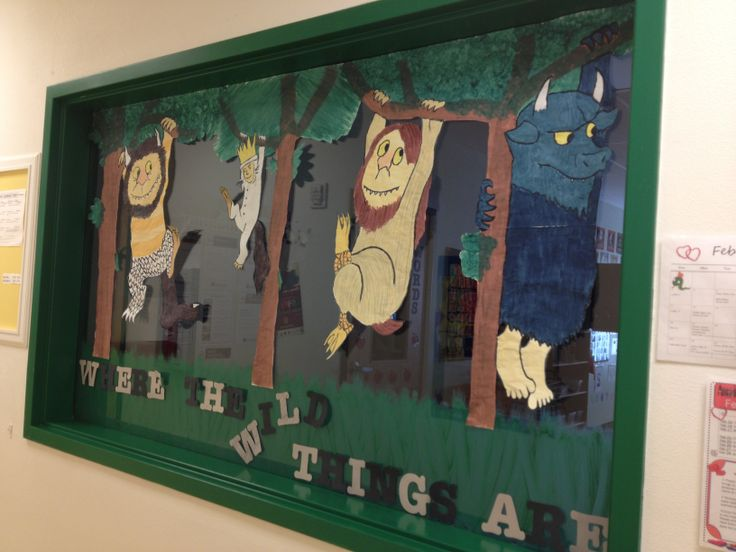 Window Decoration Ideas For Classroom : Best images about where the wild things are theme on