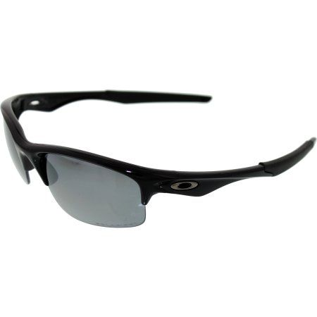 Oakley Bottle Rocket Polarized Oval Polished Black Frame/Black Iridium Polarized Lens Men's Sunglasses, OO9164-916401