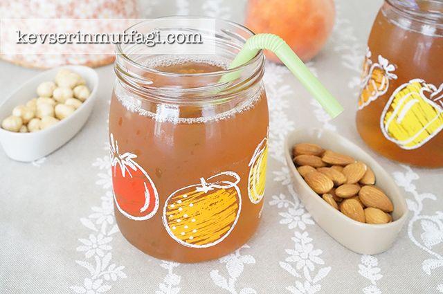 Şeftalili Buzlu Çay Tarifi - Kevser'in Mutfağı - Yemek Tarifleri