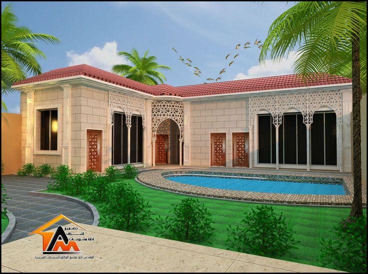 أحمد المطلق للاستشارات الهندسية تصميم اشراف استراحات