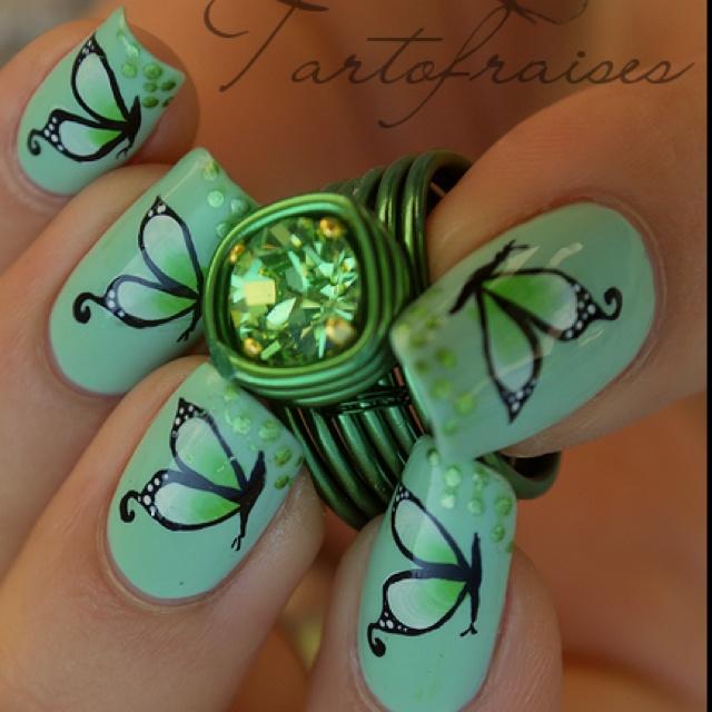 Mejores 184 imágenes de Nail Art . . . en Pinterest   Uñas bonitas ...