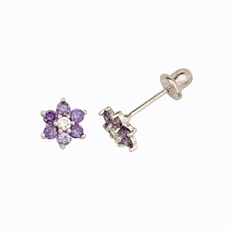 infant earrings with safety backs 40 best baby earrings with safety backs images on 5222