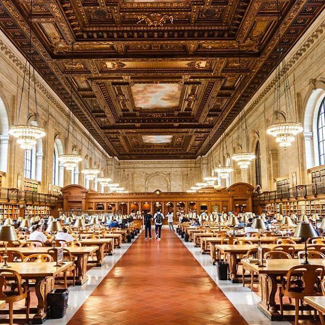 ブルックス ブラザーズさんはInstagramを利用しています:「本に囲まれて過ごす穏やかな休日。素晴らしいアイディアが生まれるかもしれません・・・。 #ニューヨーク公共図書館 より―。 #NYC #NY #ニューヨーク #図書館」