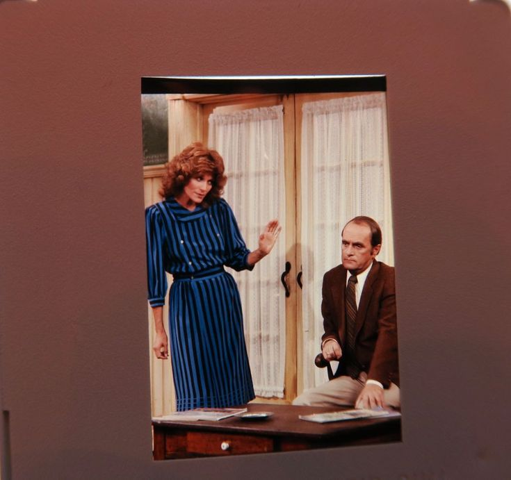 BOB  STARRING CAST NEWHART MARY FRANN Julia Duffy BETTY WHITE ORIGINAL SLIDE 11