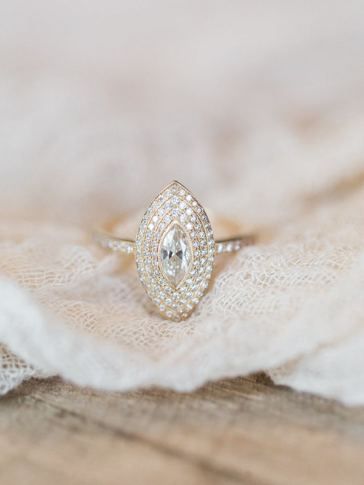 Unique engagement ring: Photography: Ashley Slater Photography - ashleyslaterphotography.com/   Read More on SMP: http://www.stylemepretty.com/2017/03/03/the-ultimate-inspiration-for-a-colorful-boho-style-wedding/
