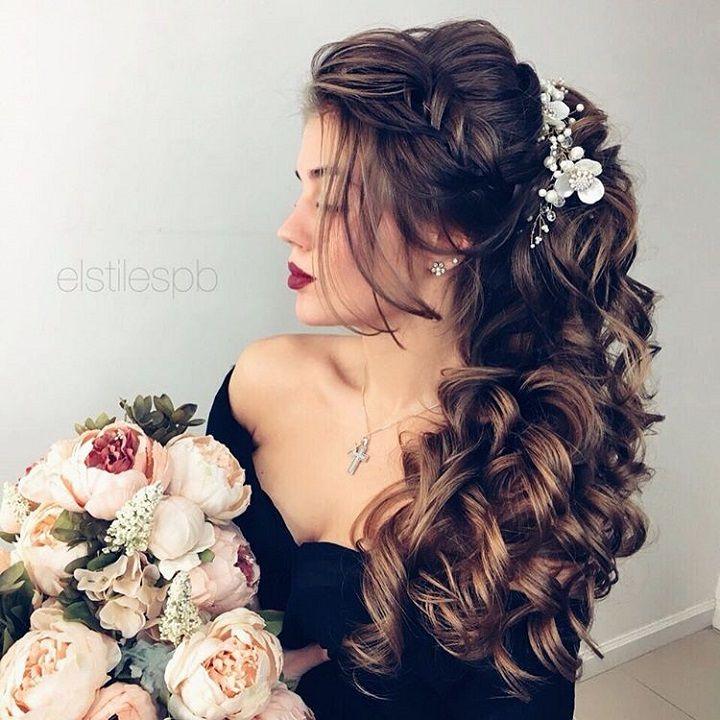 Beautiful bridal hair down - wedding hair down,bridal hairstyle,wedding hairstyles