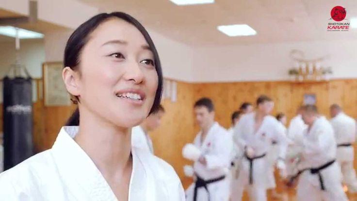 JKA Karate Takahashi Yuko Instructor Karate JKA (Japan) Courses in Russia