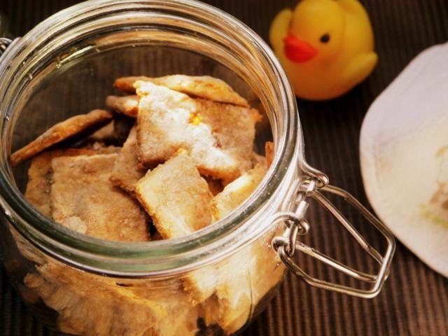 Unas galletas especiales para bebés a los que les están saliendo los dientes. ¡Prepáralas tú mismo!
