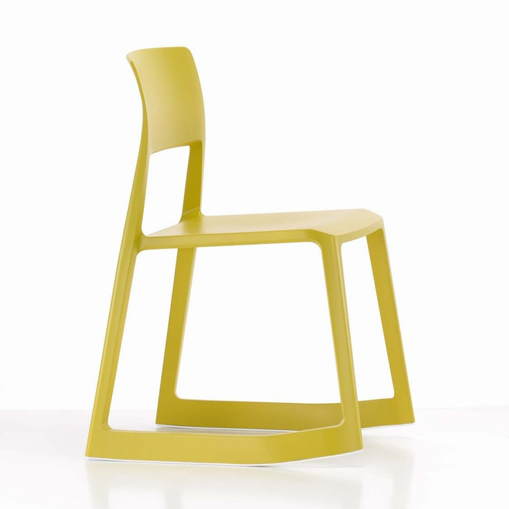 Vitra Tip Ton Chair Mustard / designed by Edward Barber & Jay Osgerby - We have these in blue at GP.