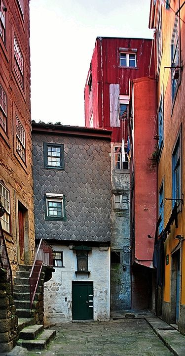 Rua dos Arcos da Ribeira | #Portugal #Porto