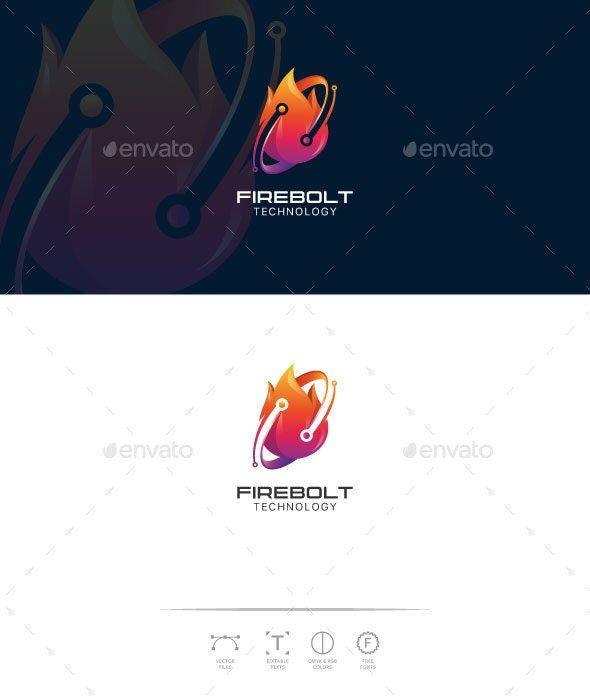 FireBolt Technology Logo Template