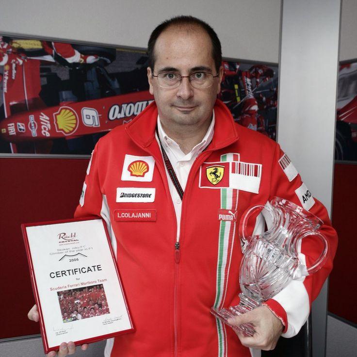 Luca Colajanni, team Scuderia Ferrari