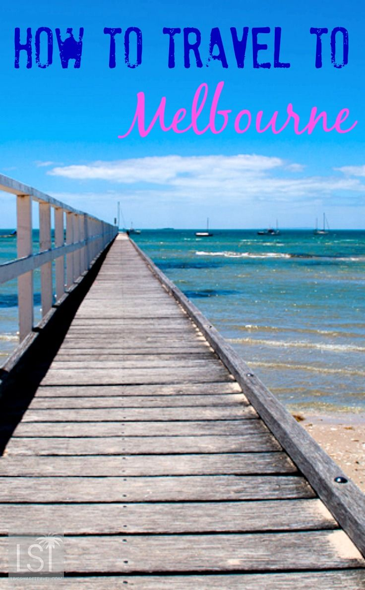 Visas, flights and tips to help you find your way to Melbourne, AND the beach at Sorrento, Victoria. #SeeAustralia