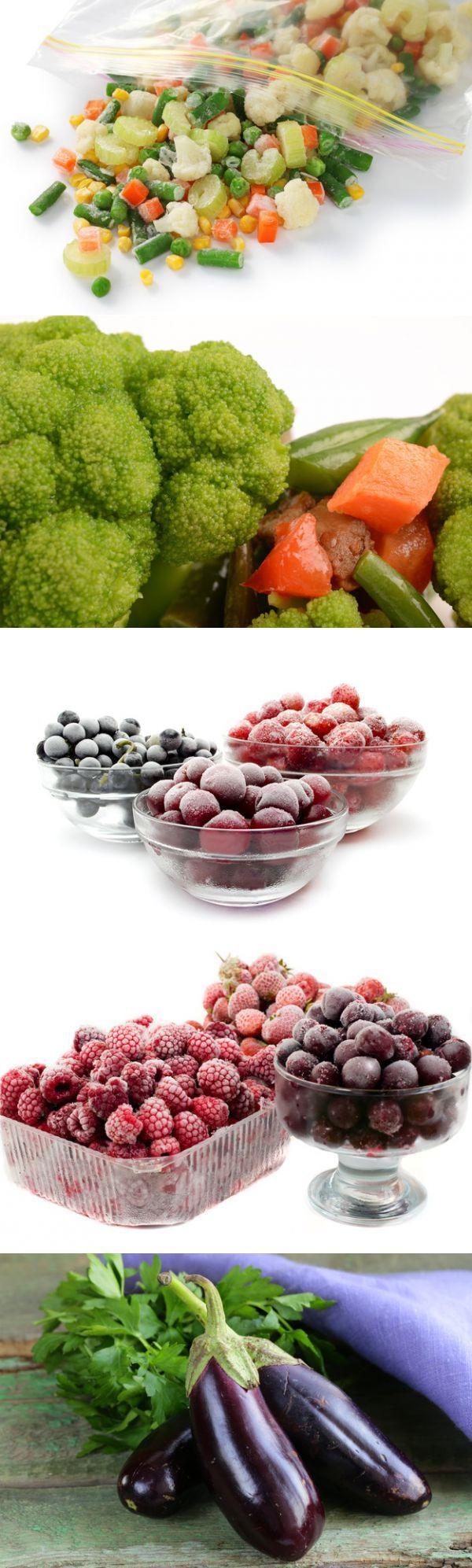 Секреты заморозки сезонных ягод, фруктов и овощей | Советы Народной Мудрости
