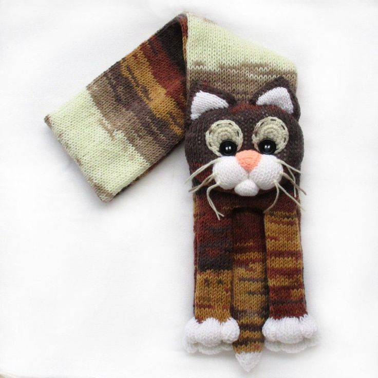 Knitted Cat Scarf Pattern : 16343 best images about KNIT on Pinterest Lace knitting patterns, Lace knit...
