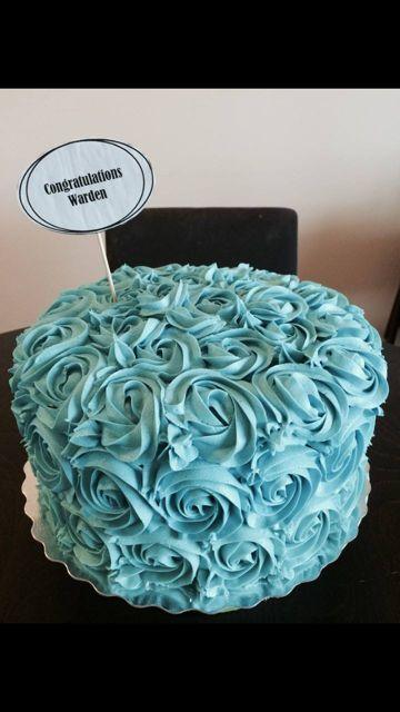 Pretty Swirl Cake