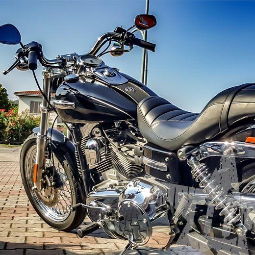 Dyna super glide custom FXDC 2009 - Nuovo annuncio #Harley #Dyna #SuperGlide #Padova