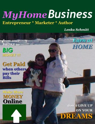 Get on the first site of Home Business magazine and inspire others to make that first step toward abundance and wealth