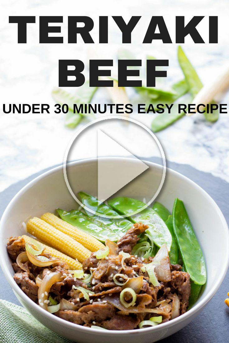 Easy family meal teriyaki beef stir fry can be done in under 30 minutes. Check out the step by step video now! Free printable recipe available in the video description. teriyaki beef, teriyaki sauce, beef, stir fry, beef stir fry, teriyaki beef stir fry, easy family meal under 30 minutes