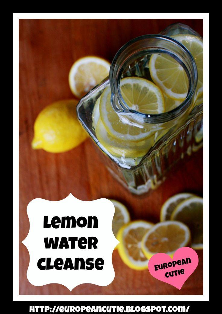 Lemon Water Cleanse on MyRecipeMagic.com