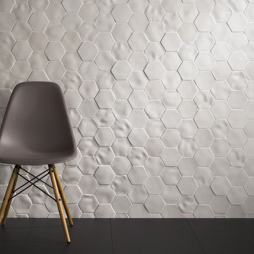 Indoor tile / wall-mounted / porcelain / textured ABSOLUTE : SELENE JOHNSON TILES