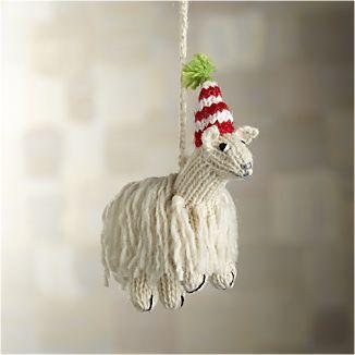 Alpaca Llama Ornament