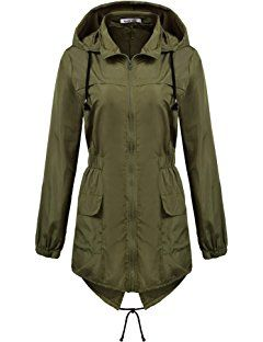 d1d7bed37f2 Macr Steve Womens Lightweight Hooded Waterproof Active Outdoor Rain Jacket