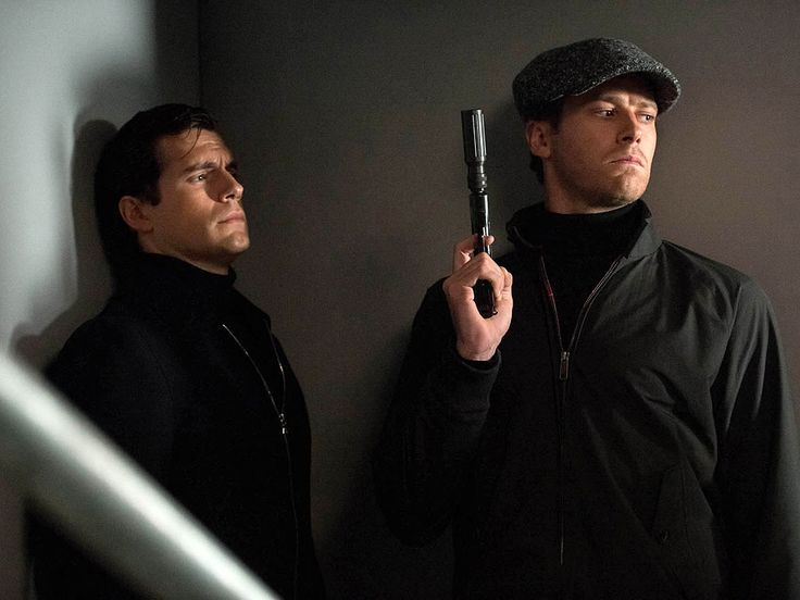 Henry Cavill & Armie Hammer in The Man from U.N.C.L.E.
