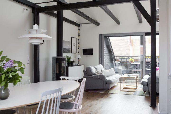 M s de 1000 ideas sobre madera de techos con vigas en - Vigas de decoracion ...