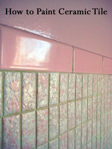1000 ideas about paint bathroom tiles on pinterest painting bathroom tiles diy bathroom. Black Bedroom Furniture Sets. Home Design Ideas
