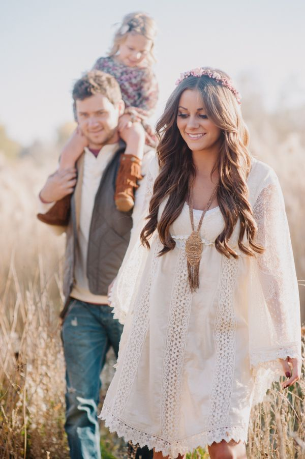 bohemian maternity shoot - Google Search