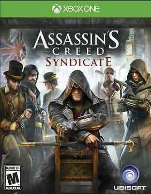 nice Assassins Creed Syndicate (Xbox One 2015) New Pre-order - For Sale Check more at http://shipperscentral.com/wp/product/assassins-creed-syndicate-xbox-one-2015-new-pre-order-for-sale/