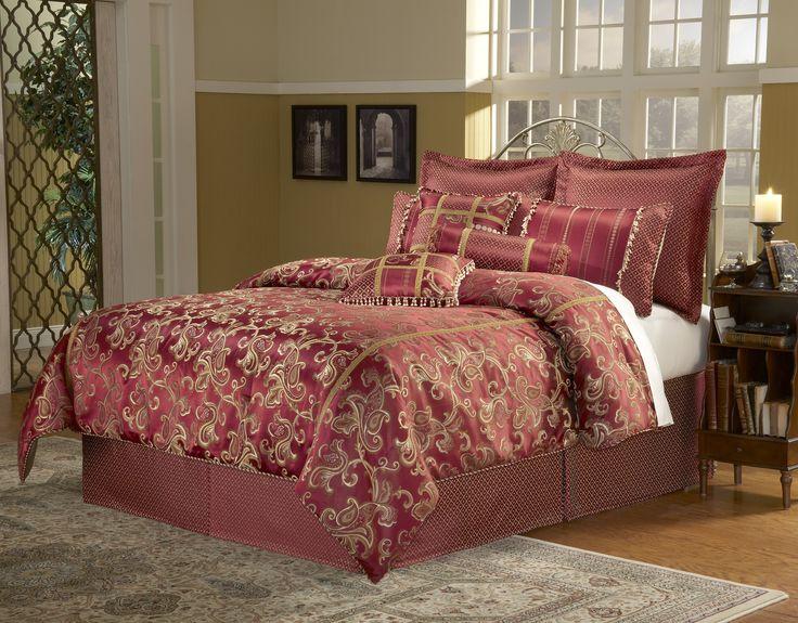 paramount 14 piece california king comforter set