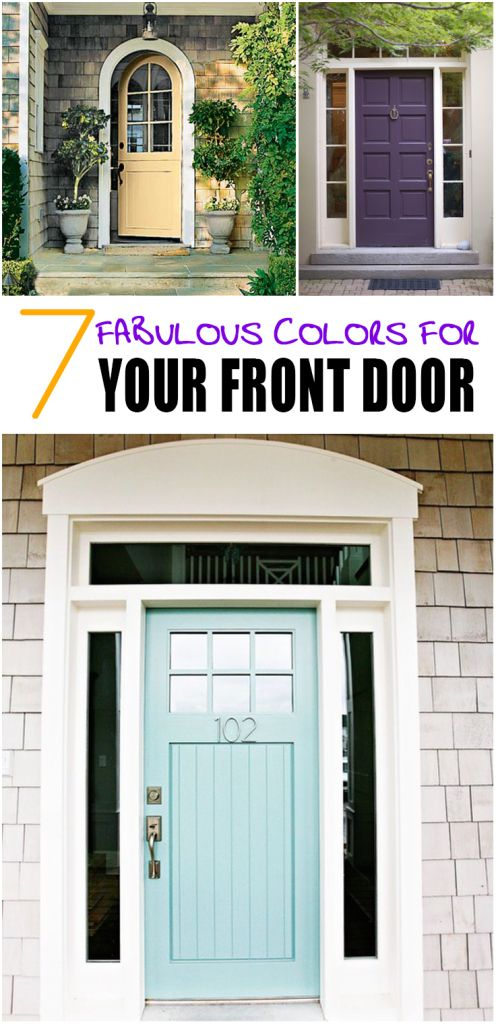 7 Fabulous Colors for Your Front DoorBest 20  Front door design ideas on Pinterest   Modern front door  . Front Door Designs For Homes. Home Design Ideas