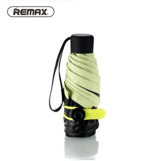 Remax RT-U2 Mini Portable Sunny Rainy Double Use Sun UV Protection Folding Umbrella Green