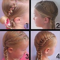 hair braids for girls - I wonder if E's hair will get long enough for this?? :)