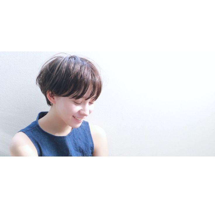 高橋 忍さんのヘアカタログ | 大人かわいい,黒髪,ショートヘア,セミウェット,マッシュショート | 2016.03.17 00.13 - HAIR