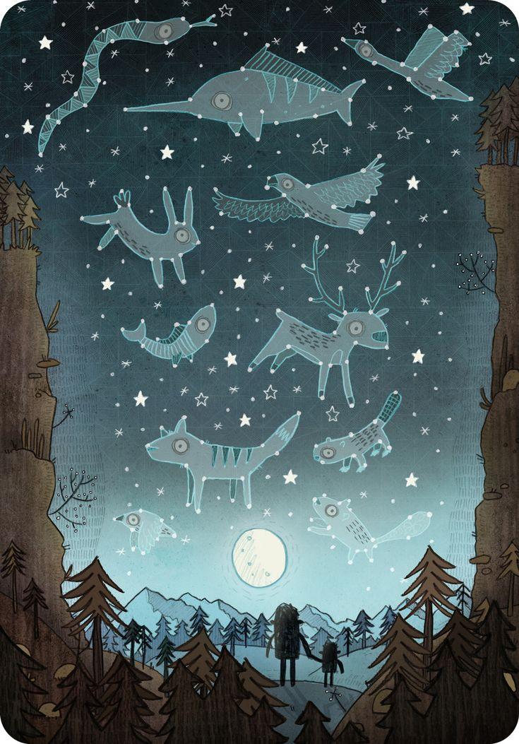 Constellations - Brendan Kearney Illustration