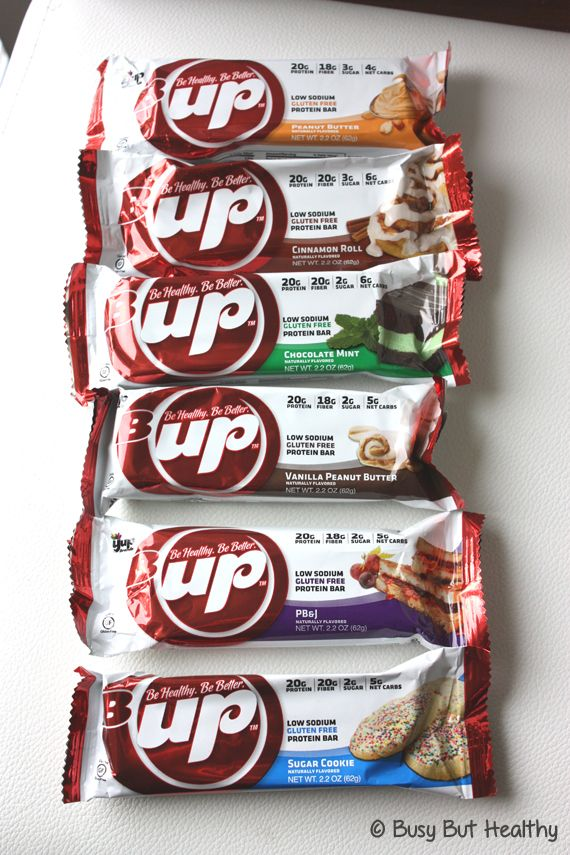 B-Up Protein Bars Review