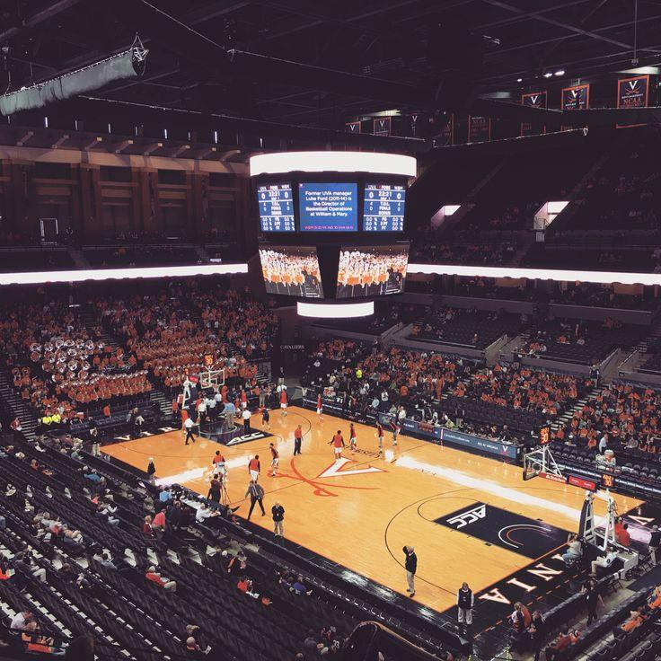 UVA basketball game.