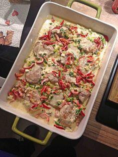 Schweinefilet mit Schafskäse überbacken, ein gutes Rezept aus der Kategorie Schwein. Bewertungen: 9. Durchschnitt: Ø 3,9.