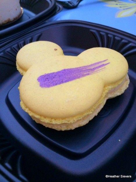 Passion Fruit Mickey Macaroon at the Jolly Holiday Bakery! #Disneyland