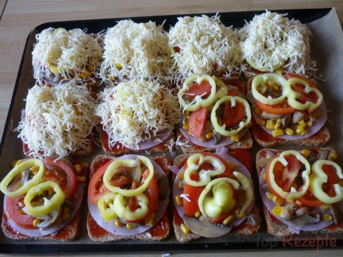 Toastbrot-Pizza   Top-Rezepte.de