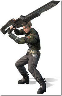 Guin - Xenoblade Chronicles X; A member of the private military organization, BLADE. Back on Earth, he worked as a subordinate of Elma and Irina as part of the government spec-ops vehicular instructor corps known as the Doll Squad. He occasionally messes up here and there, but he's an honest character who admires Irina and also has a bit of a crush on her.