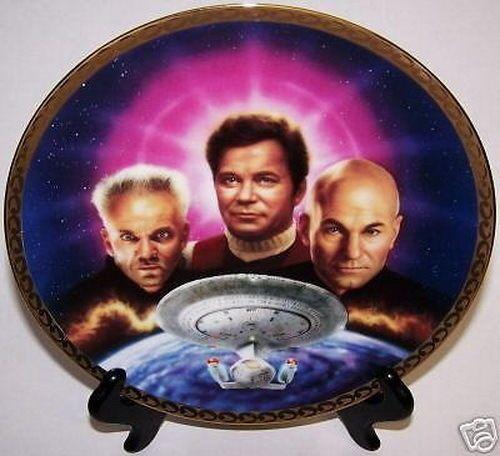 Star Trek Generations Plate Ultimate Confrontation  sc 1 st  Pinterest & 175 best Collectibles Plates images on Pinterest | Star trek ...