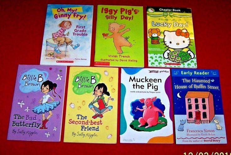 Beginning 1st grade 7 chapter books ages 5 6 7 billie b