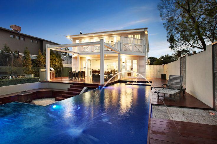 Amazing backyard pool in Hampton