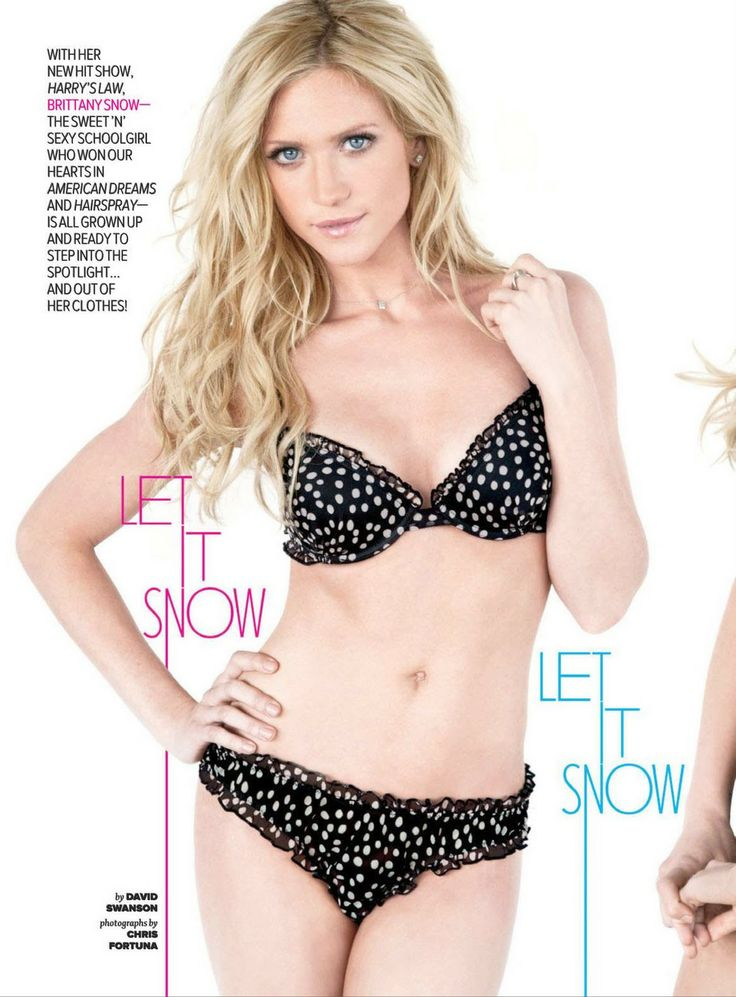 Pity, that brittany snow red lingerie doubt